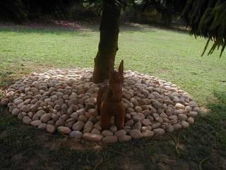 Renovation of garden & landscaping Anna Interiors Garden Accessories & decoration