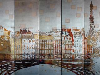 PARIS PONT DES ARTS:  de style  par ULGADOR