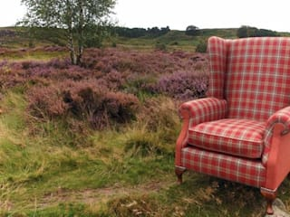 York Dale Wing Chair by handmade