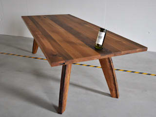 Fasstisch Nr. 113: moderne Esszimmer von Walter's Wood Idea AG