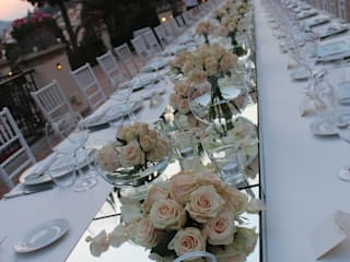 Balcon, Veranda & Terrasse de style  par michelangelo finocchiaro