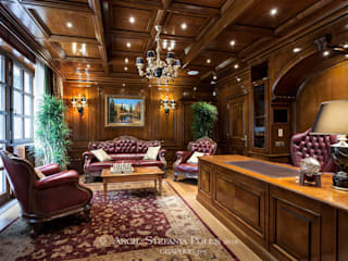 Villa a Mosca interni di GRAPHOS_DS Eclettico