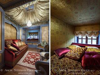 Villa a Mosca interni: Case in stile  di GRAPHOS_DS