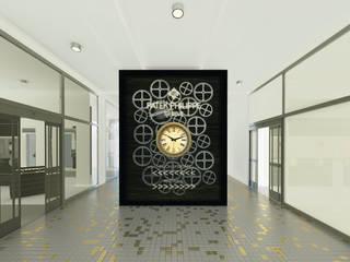 Salon sprzedaży i wystawa zegarków marki Patek Philippe od QCA Nowoczesny