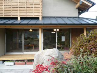 能勢のいえ: 広渡建築設計事務所が手掛けた庭です。
