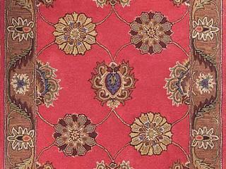 Oriental persian area rug handmade Red Brown carpet: modern  by Midas craft,Modern