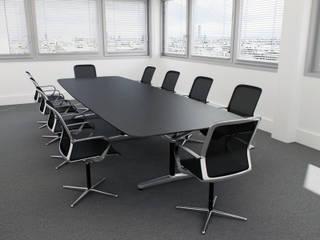 Bureaux, Courbevoie (92), 2011 - Aménagement intérieur - 300 m²: Bureaux de style  par ERIC SANTOS • ARCHITECTURE