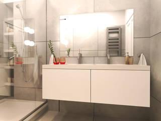 appartement haussmanien à Neuilly sur Seine: Salle de bains de style  par Agence KP
