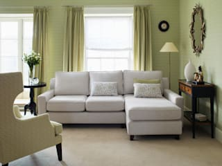 Sofas and armchairs Modern living room by Wesley-Barrell Modern