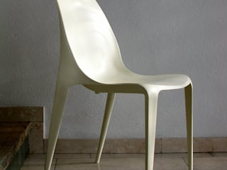 Beluga Plastic Chair por 吉野 利幸