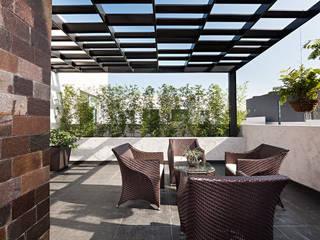 Terrasse de style  par Arq. Bernardo Hinojosa