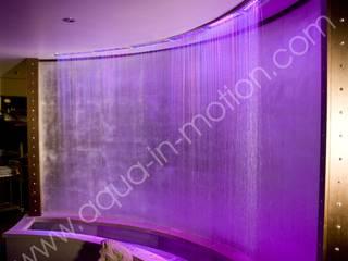 Brunneninstallation & Wasservorhang auf dem Kristallschiff:  Yachten & Jets von aqua-in-motion.com
