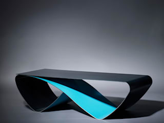 Table basse Infini / Coffee table Infini:  de style  par Coco Steel