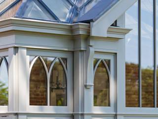 Complex Conservatory on Victorian Rectory Konservatori Gaya Eklektik Oleh Vale Garden Houses Eklektik