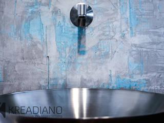 KREADIANO - exklusive Wandgestaltung Industriale Badezimmer von Kreadiano Industrial