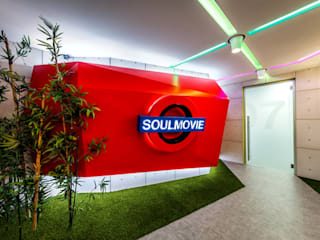UFFICI SOUL MOVIE ENTERTAINMENT di Brain Factory Moderno