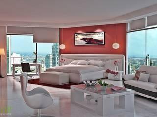 Yantram Architectural Design Studio: modern tarz , Modern