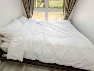 Phòng ngủ theo 큐브디자인 건축사사무소, Hiện đại