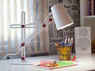 Lámpara LOOKER de Santiago Sevillano Industrial Design Escandinavo