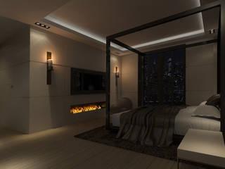 Modern Bedroom by dziurdziaprojekt Modern