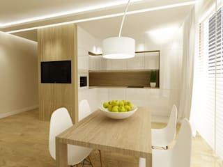 Modern kitchen by dziurdziaprojekt Modern