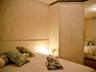 Apartamento Salas de estar por Daniela Vieira Arquitetura