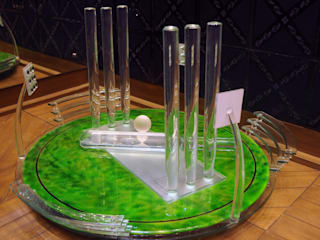 glass cricket stadium :   by atlantic designer glass