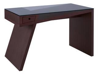Gerrit walnut desk:   by Icona Furniture