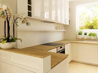 Classic style kitchen by dziurdziaprojekt Classic