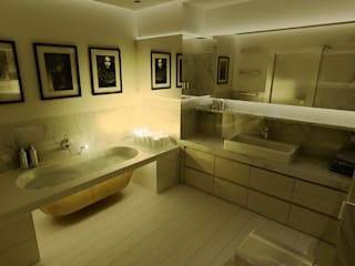 Modern bathroom by dziurdziaprojekt Modern
