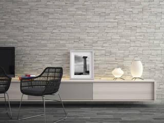 Rustic style walls & floors by Sánchez Plá Rustic