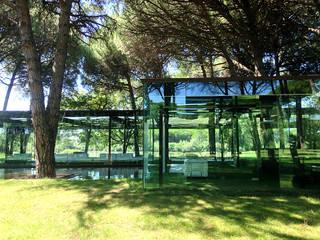 Maison de verre Maisons modernes par Clémence Polge - design d'espace x rédaction web Moderne