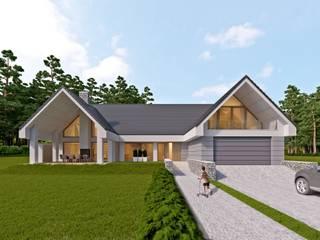 LK & Projekt Sp. z o.o. Casas estilo moderno: ideas, arquitectura e imágenes