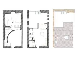 LA CASA ROSSA:  in stile  di Michele  Stasolla  Architetto