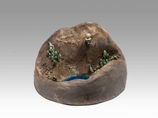 sculpture delphine Barbry:  de style  par delphine barbry céramique