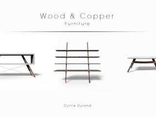 Wood & Copper par Cyrille Durand Design Scandinave