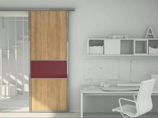 Schiebetür als Zimmertürersatz:   von Möbelmanufaktur Grube Carl GmbH