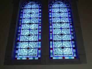 Restauration de vitraux par Atelier VFP Classique