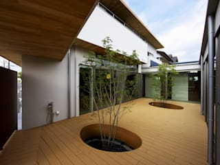 Garden by 長坂篤建築研究所, Modern