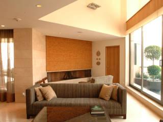 PH A Las Nubes Living room by ARCO Arquitectura Contemporánea