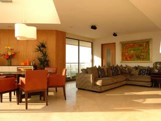 Salas / recibidores de estilo  por ARCO Arquitectura Contemporánea