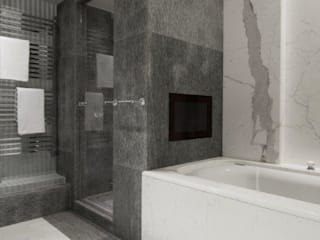 Stephanie Coutas's projects Salle de bain moderne par Stephanie Coutas Moderne