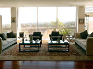 Departamento Vertientes Living room by ARCO Arquitectura Contemporánea