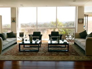 Livings de estilo  por ARCO Arquitectura Contemporánea ,