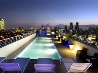 Skyview Polanco Pool by ARCO Arquitectura Contemporánea