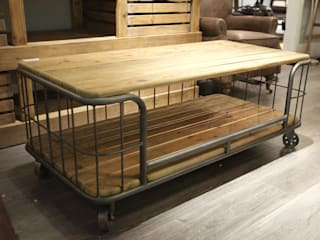 Reclaimed Oak Coffee Table by Cambrewood