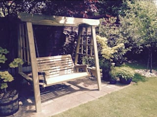 Garden swing Churnet Valley Garden Furniture GiardinoAltalene & Aree Giochi