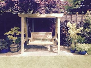 Garden swing Churnet Valley Garden Furniture Garden Swings & play sets
