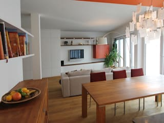 Dining room by eswerderaum, Modern