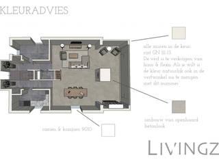 Livingz interieur:  tarz Oturma Odası, Endüstriyel